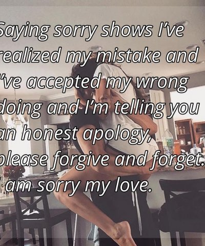 I'm Sorry For Hurting You