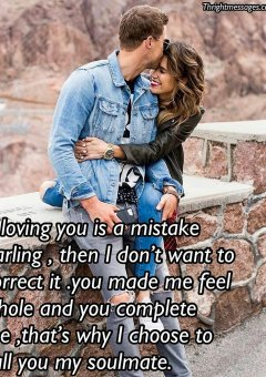 If loving you is a mistake