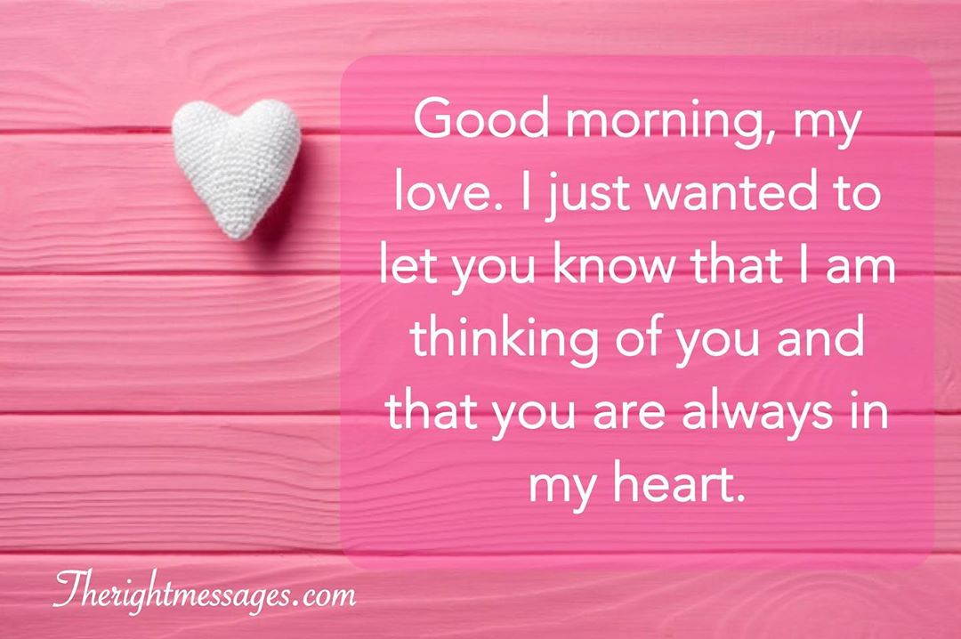 99 Sweet Good Morning Text Messages For Her The Right Messages