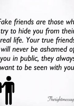 Fake friends Friendship Quotes