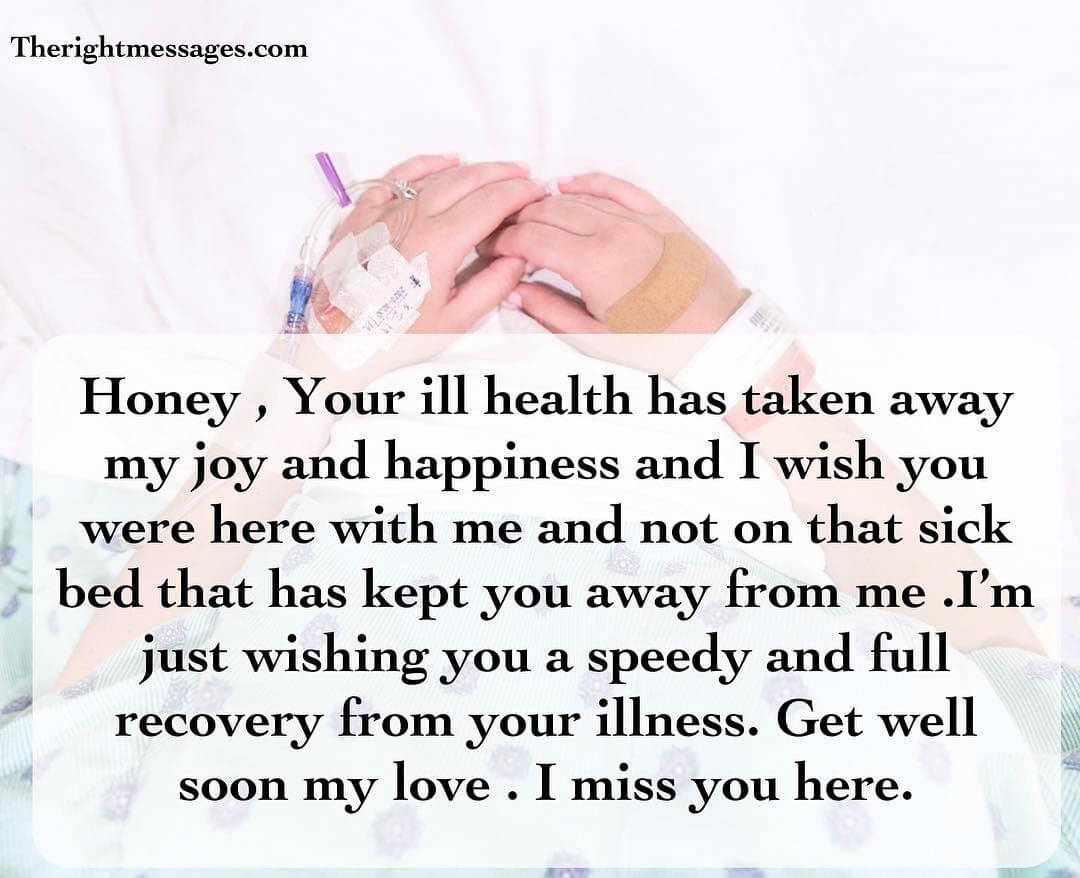 get well soon texts for her him