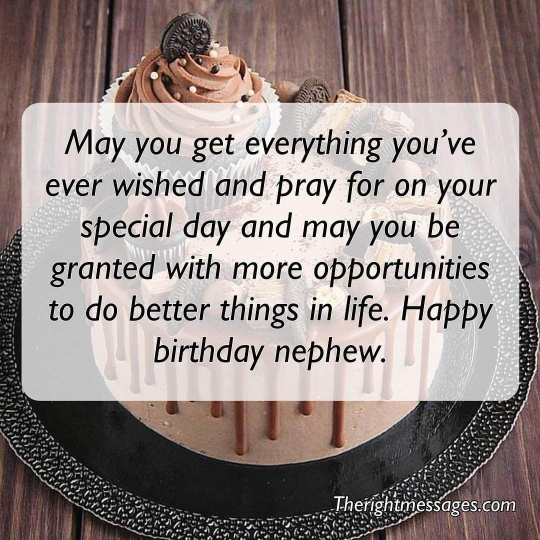 Happy Birthday Messages Wishes Quotes For Nephew