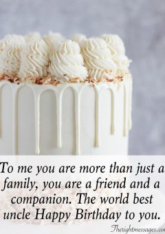 Happy Birthday Messages & Quotes For Uncle