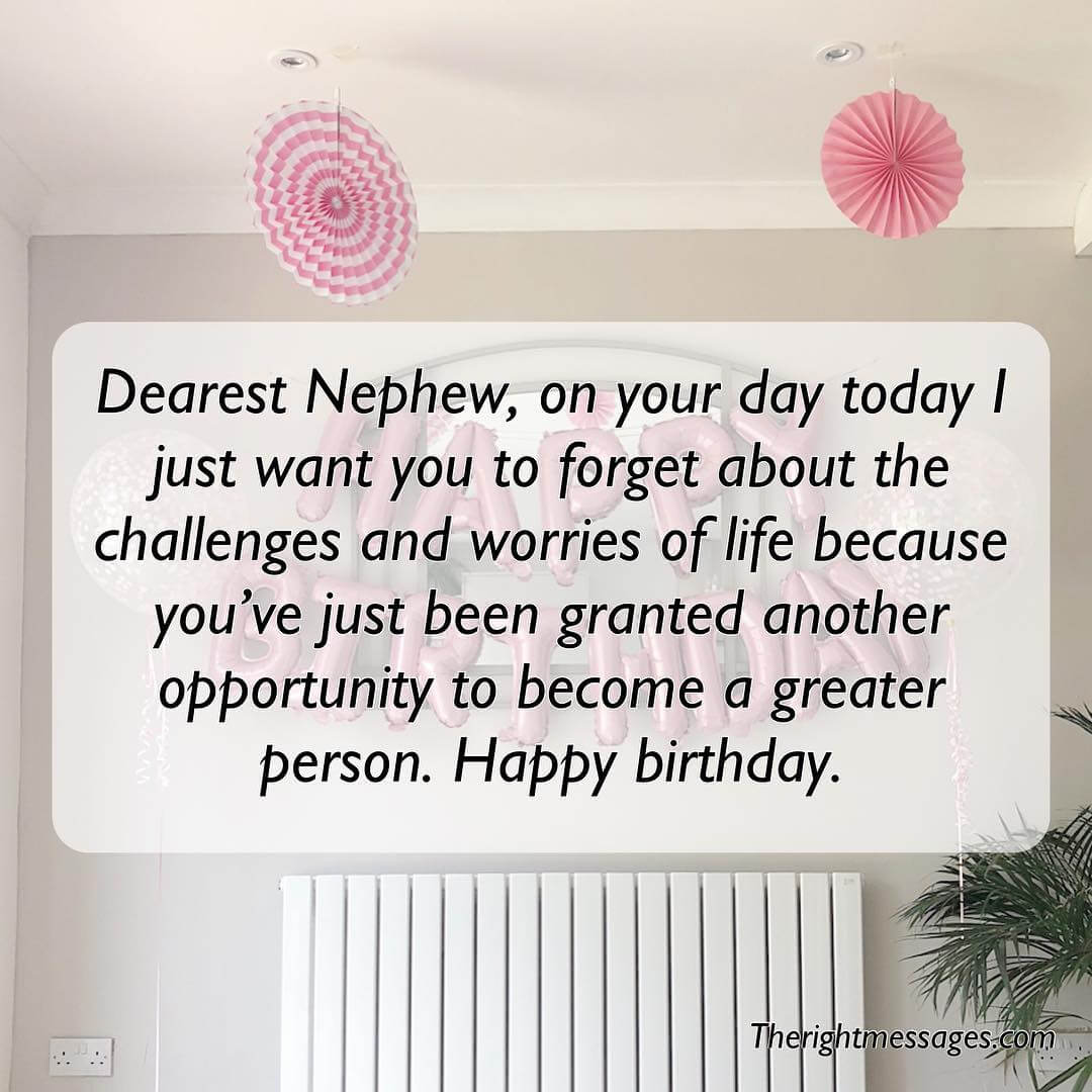 Short & Long Birthday Wishes, Messages For Nephew | The ...