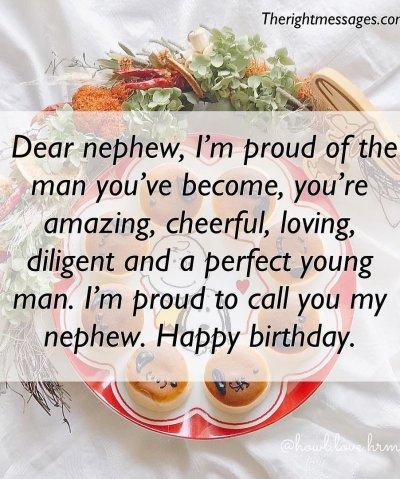 Happy Birthday Quotes for nephew