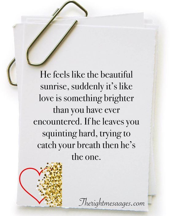 Awesome Love Quotes for Him | The Right Messages