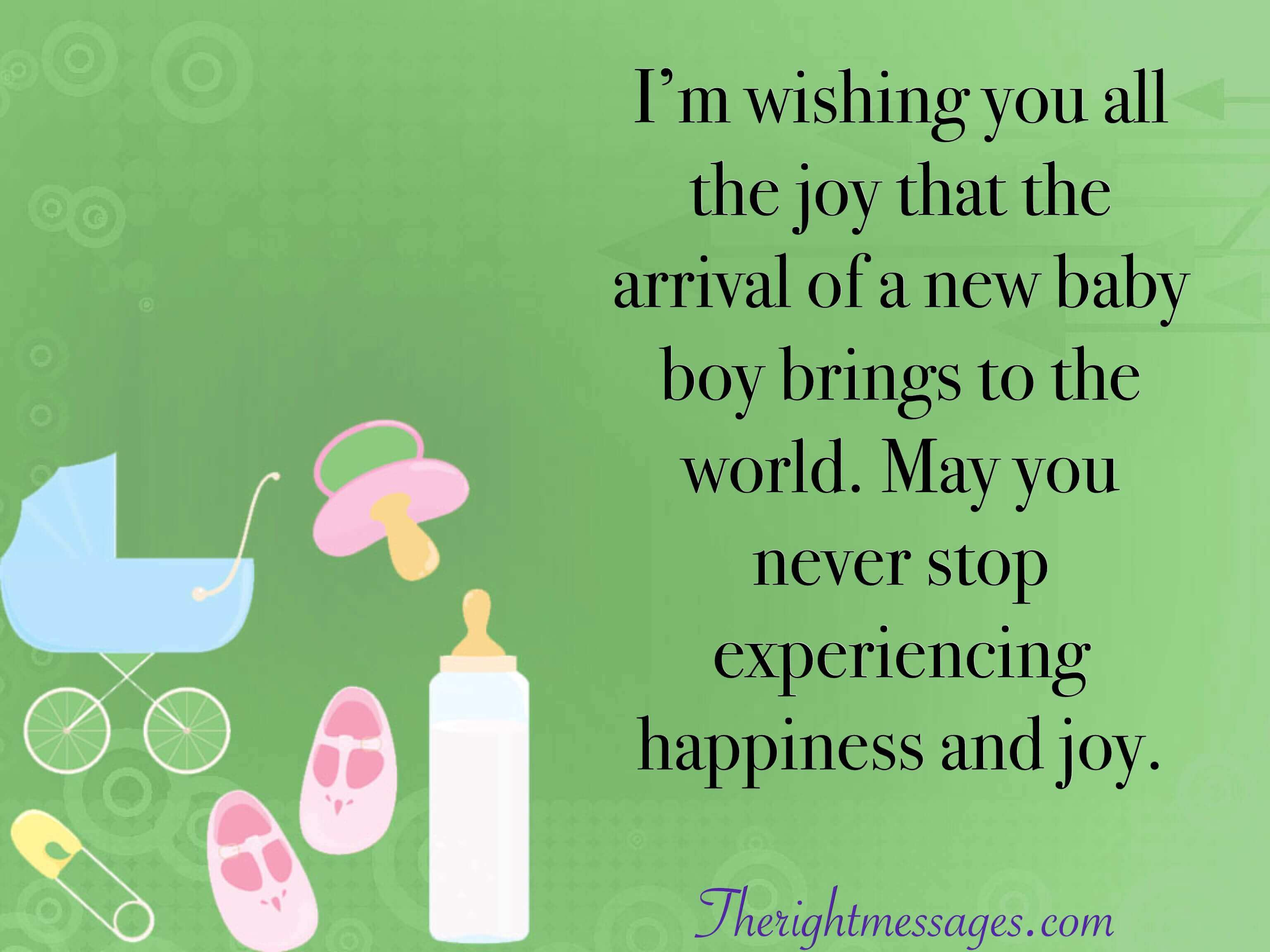 45 Congratulation Wishes Messages For New Born Baby Boy The