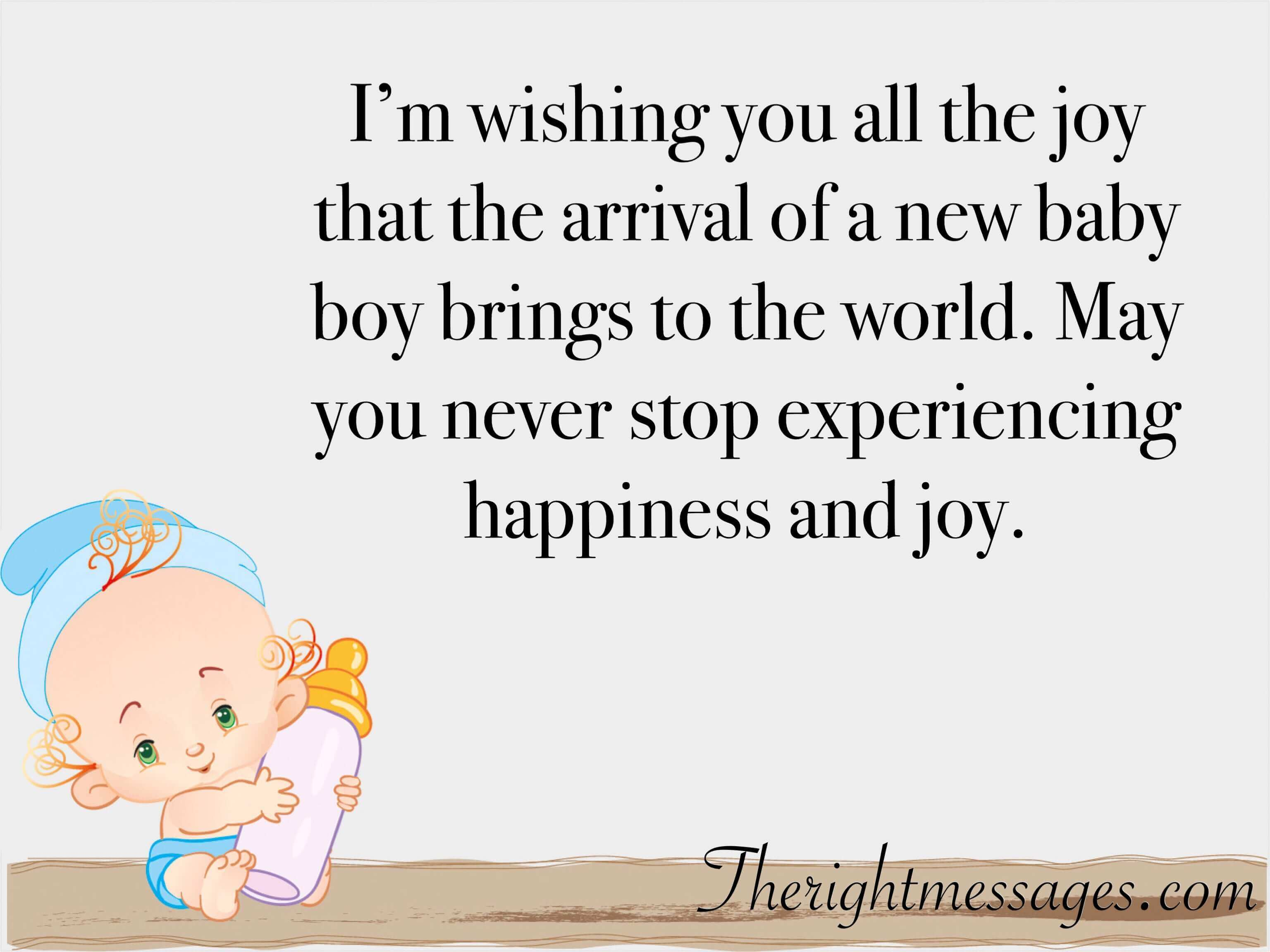 It S A Boy Quotes: 45 Congratulation Wishes & Messages For New Born Baby Boy