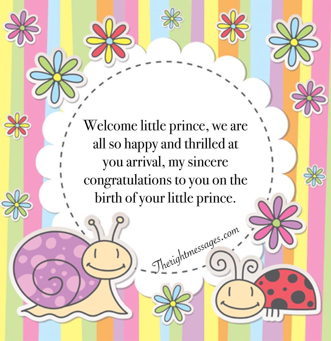 Messages for New Born Baby Boy 6