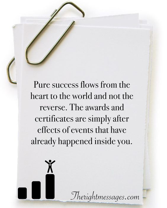 Pure success flows