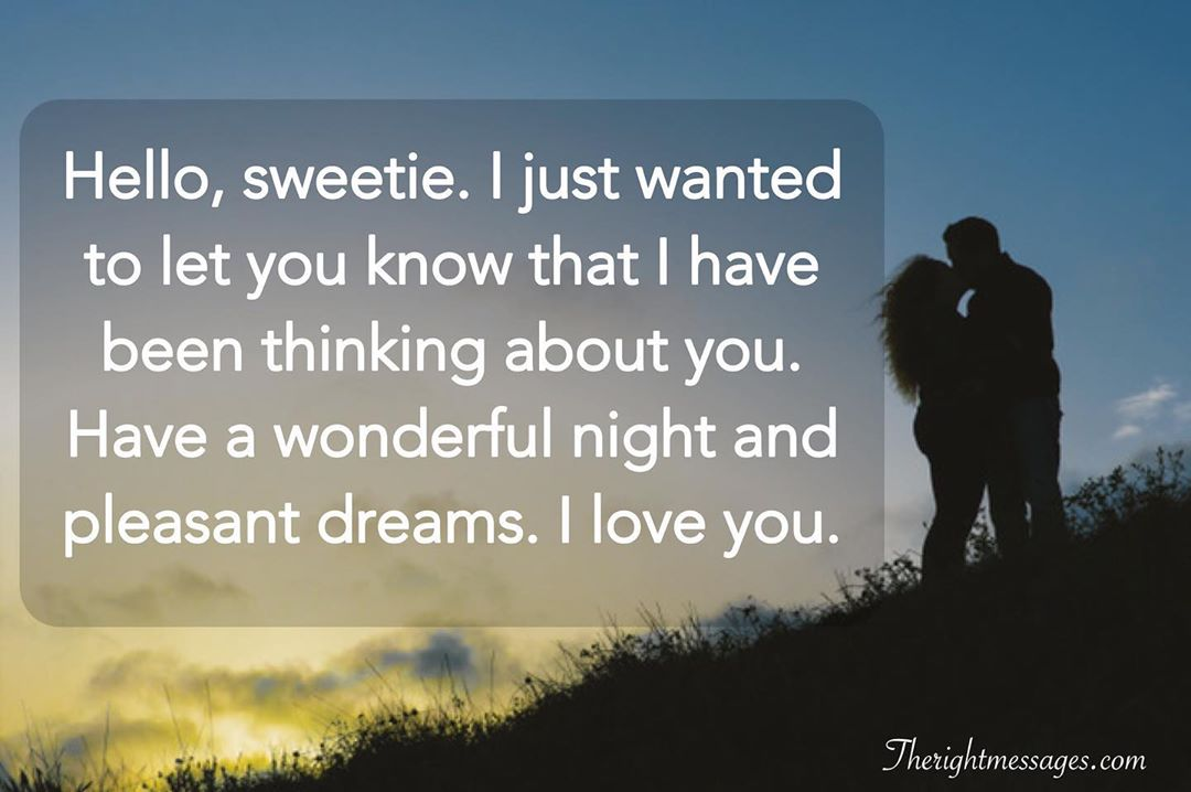 58 Romantic Good Night Texts for Her: Quotes and Messages ...