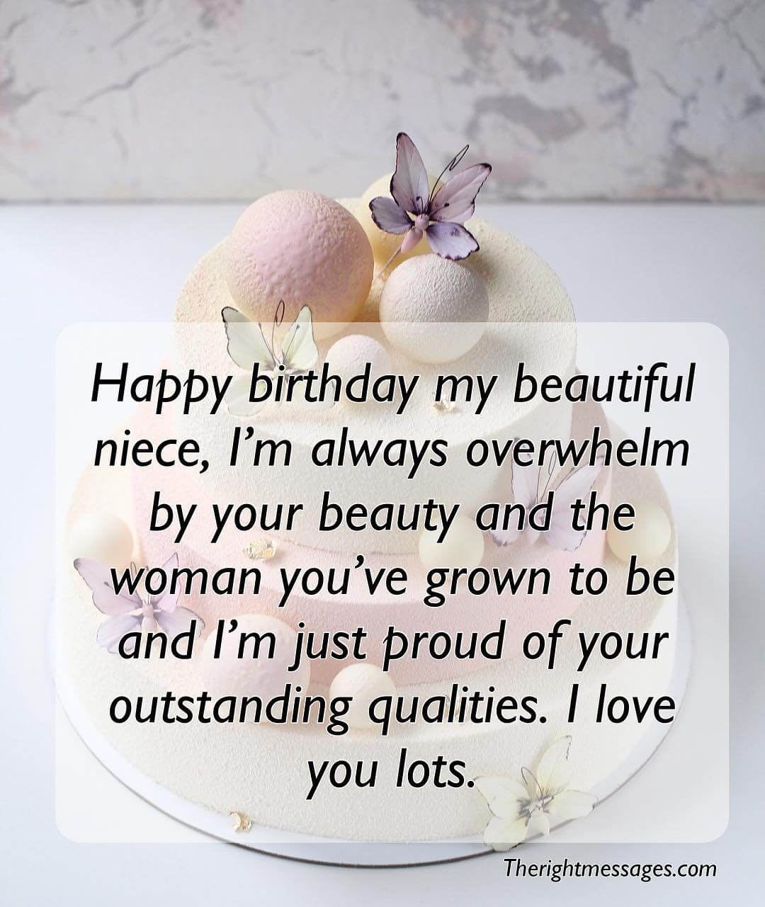 Happy Birthday Messages Wishes Quotes For Niece The Right Messages