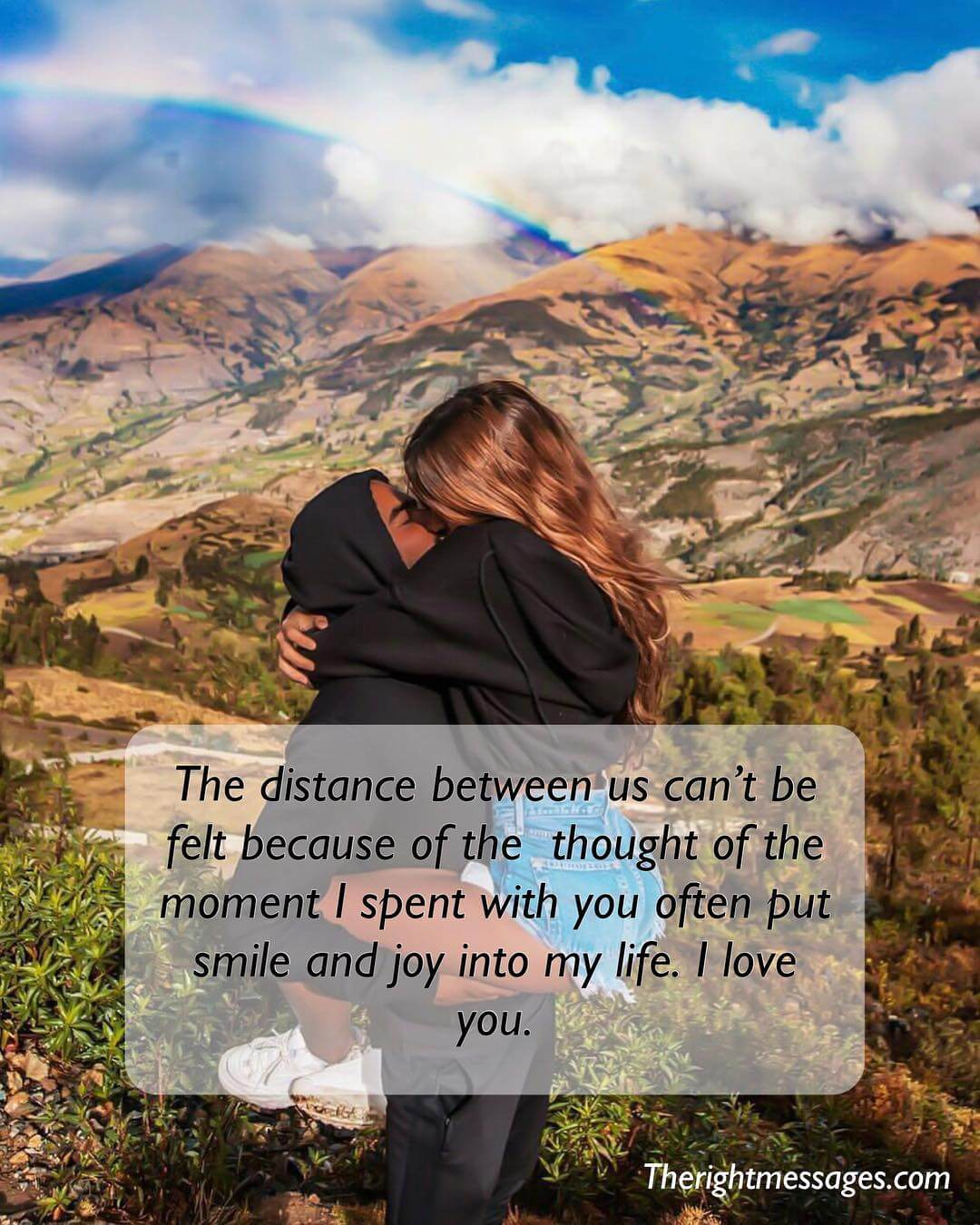 the distance between us cant