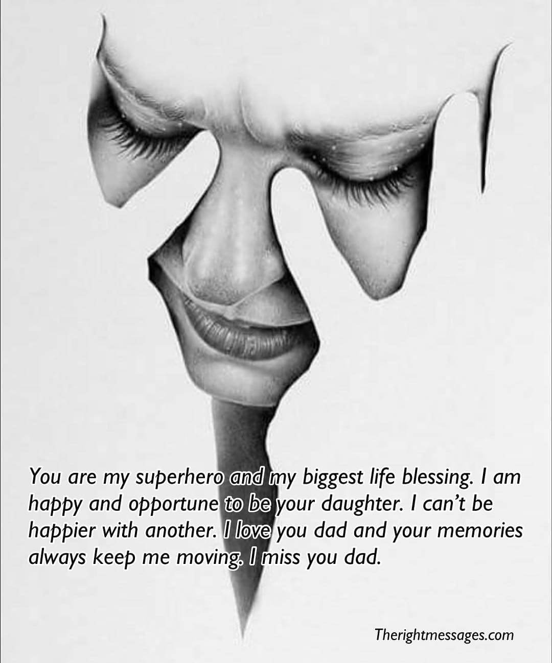 40 I Miss You Messages & Quotes For Dad after Death | The ...