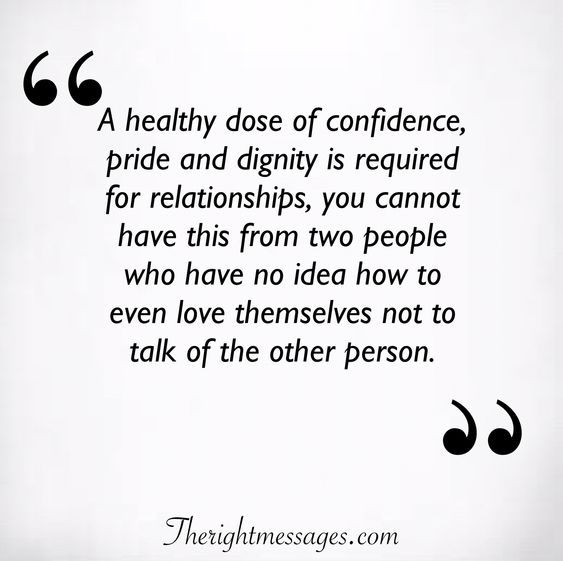 A healthy dose of confidence