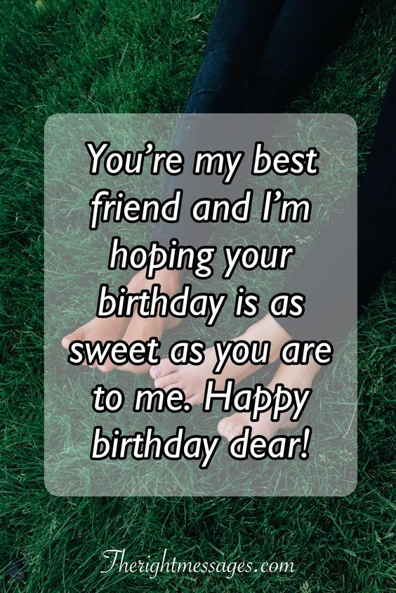 birthday wishes messages for best friend
