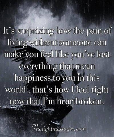 Broken Heart Saying