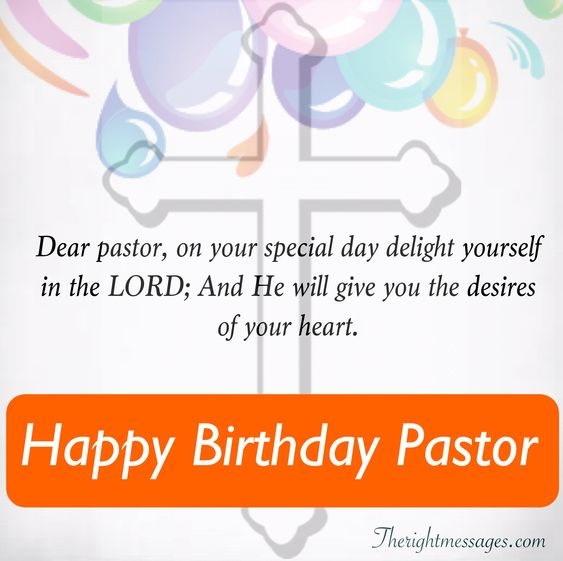 Happy Birthday Wishes For Pastor