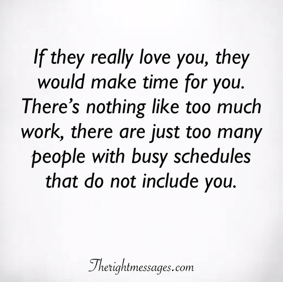 If they really love you