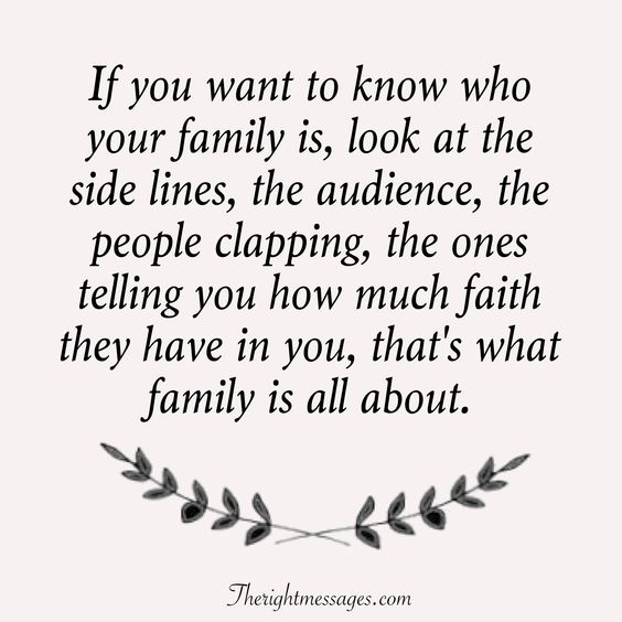 If you want to know who your family