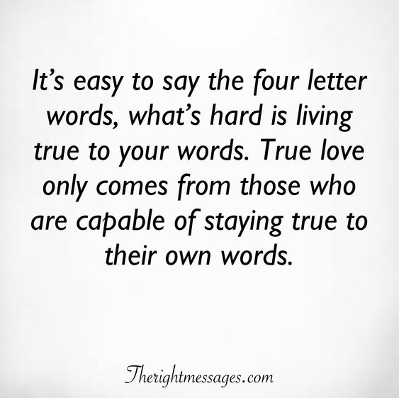 It's easy to say the four letter