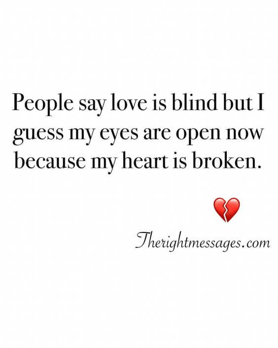 55 Powerful Broken Heart Quotes Messages The Right Messages