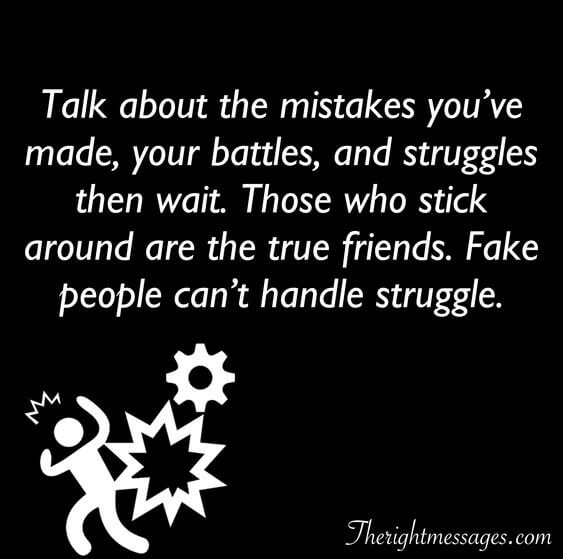 Image of: Fake People Talk About The Mistakes Youve Made Fake Friend Quote The Right Messages Fake Friends Fake People Quotes Sayings With Images The Right