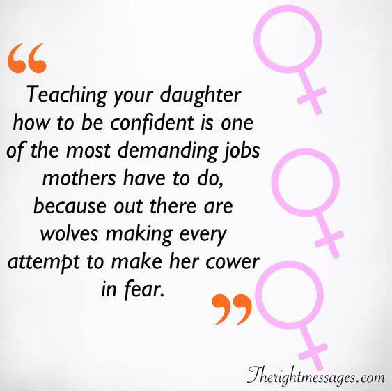 Teaching your daughter