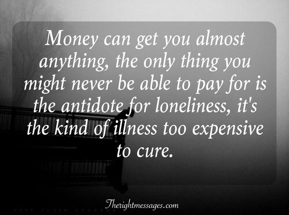 antidote for loneliness