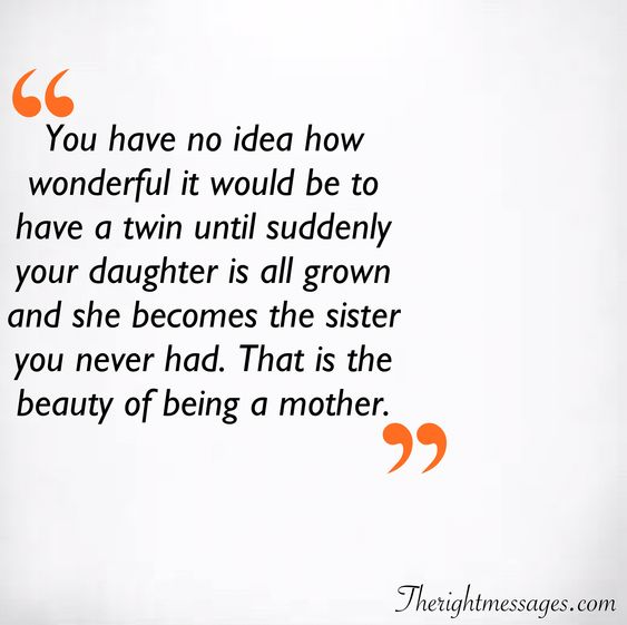 beauty of being a mother quote