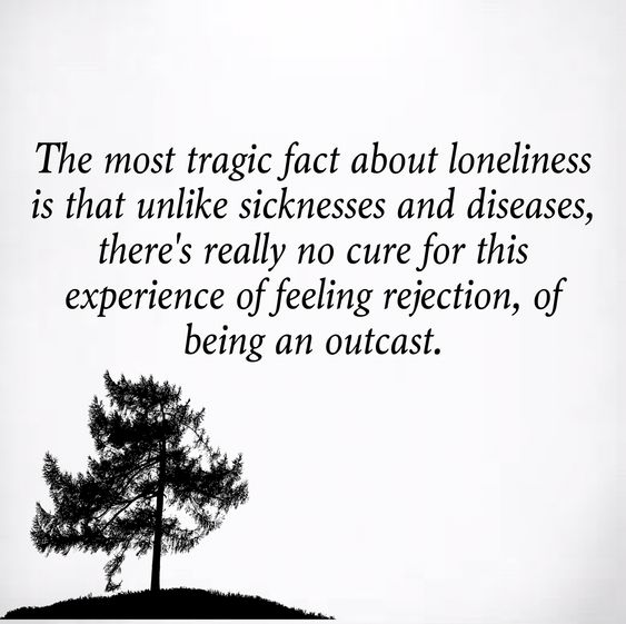 fact about loneliness