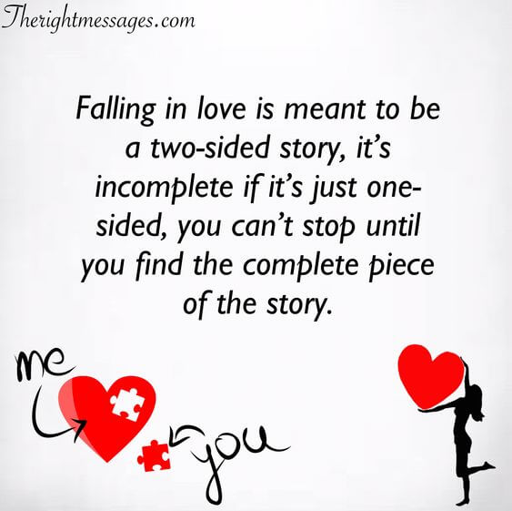 falling in love is meant to be a two sided