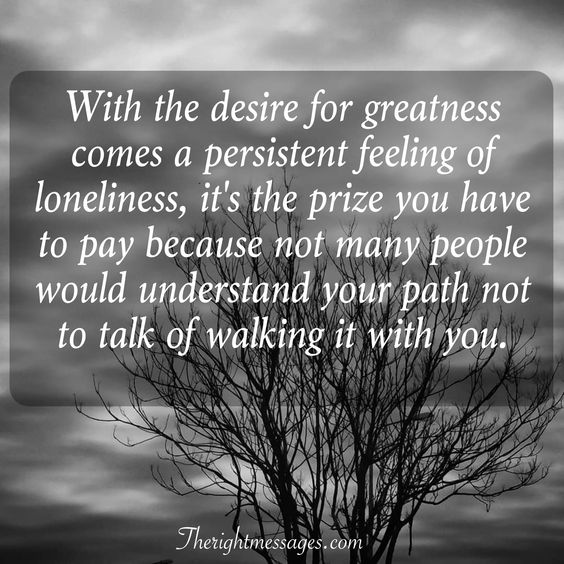 feeling of loneliness quote