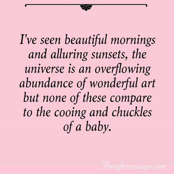 Sweet Baby Quotes Sayings Text Messages