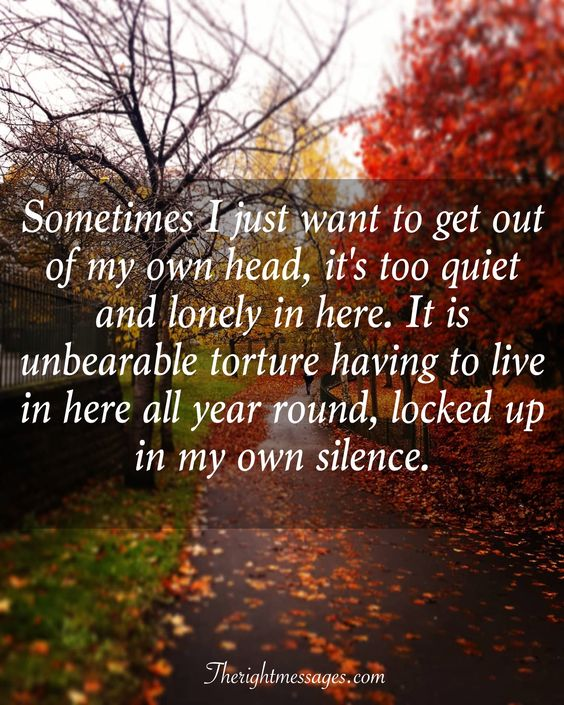 lonely in here quote