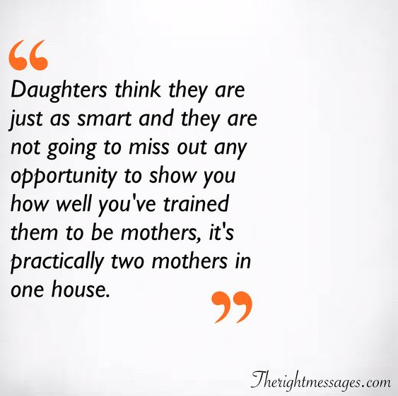 trained them to be mothers quote