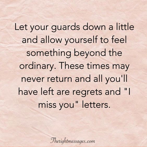 """I miss you quote"" letters"