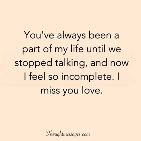 29 I Miss You Quotes For Her & Him