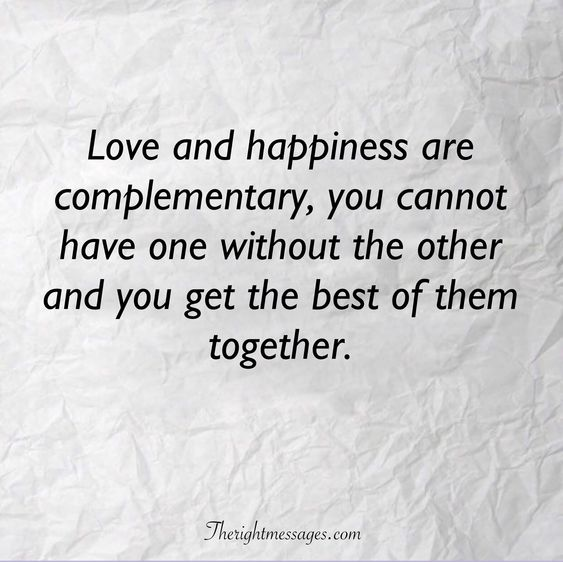 32 Inspirational Quotes About Happiness And Love | The Right ...