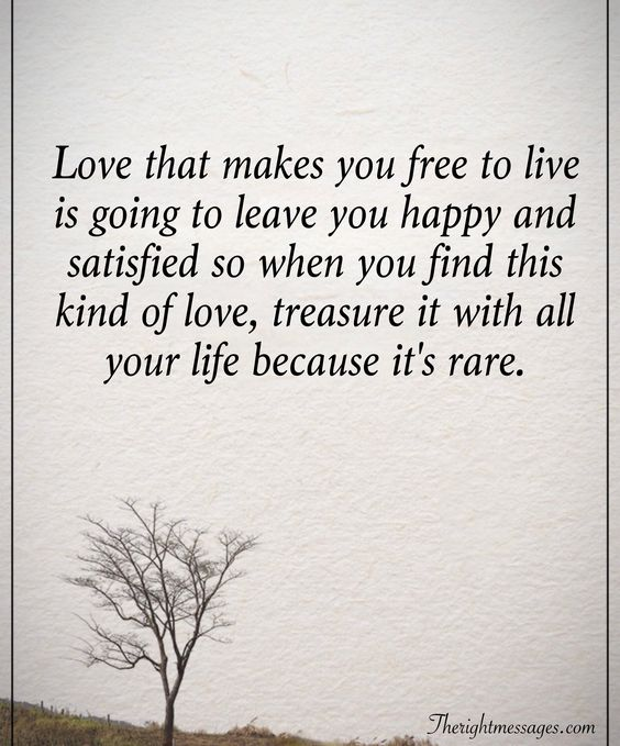 Love that makes you free quote