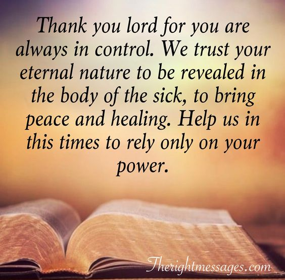 Powerful Prayers For Healing And Comfort The Right Messages