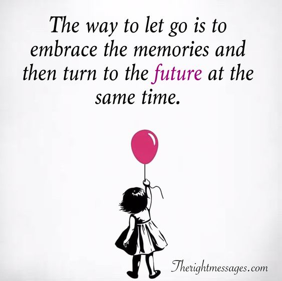 embrace the memories