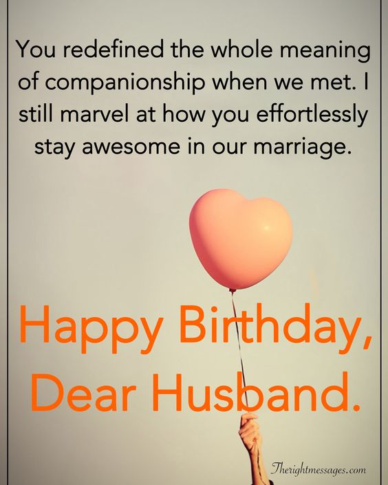 28 Birthday Wishes For Your Husband