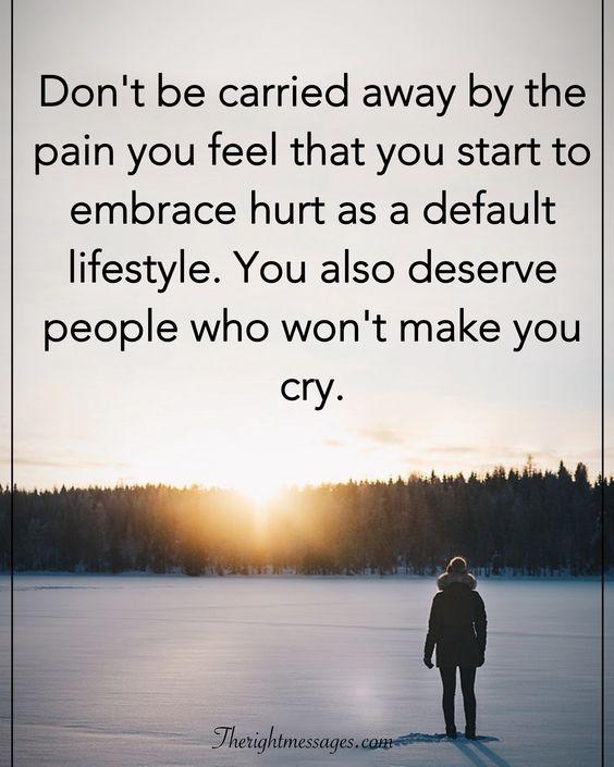 embrace hurt