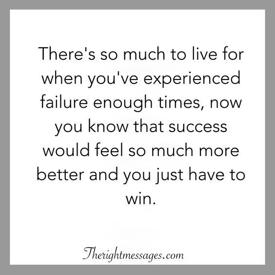 experienced failure