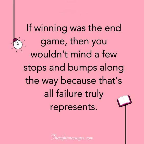 failure truly represents