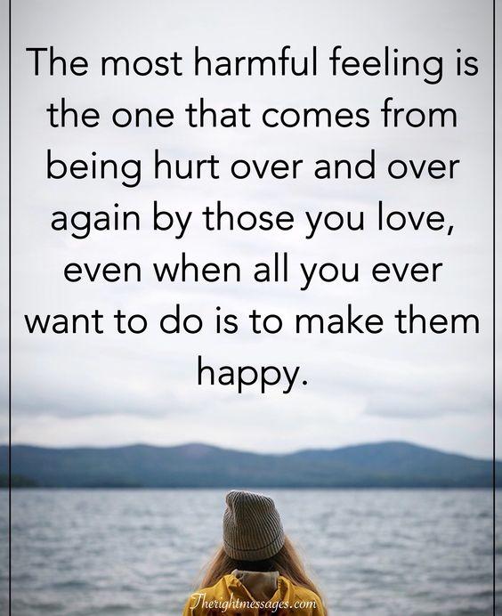 harmful feeling