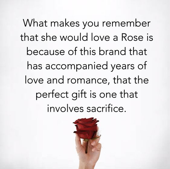 love a Rose quote