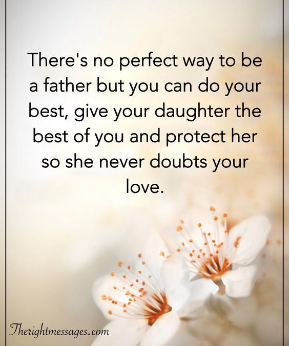 protect her so she never doubts your love