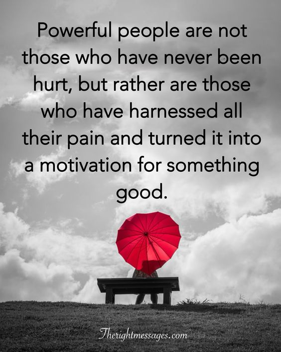 who have never been hurt
